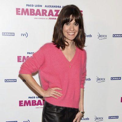 Alexandra Jiménez en la presentación de 'Embarazados'