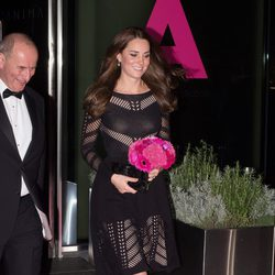 Kate Middleton en la gala de otoño 'Action on Addiction' de Londres