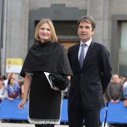 Ainhoa Arteta y Jesús Garmendia en los Premios Príncipe de Asturias 2014