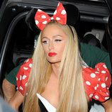 Paris Hilton en la fiesta 'Casamigos Tequila Halloween Party'