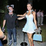 Elisabetta Canalis en la fiesta 'Casamigos Tequila Halloween Party'
