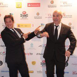 Jorge Sanz y Antonio Resines en la clausura de la Seminci 2014