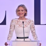 Jennifer Lawrence en la 21º Edición femenina de ELLE en Hollywood