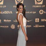 Almudena Cid en la entrega de los Premios de la Liga de Fútbol Profesional 2014