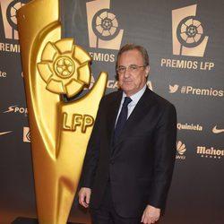 Florentino Pérez en la entrega de los Premios de la Liga de Fútbol Profesional 2014