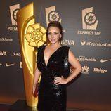 Chenoa en la entrega de los Premios de la Liga de Fútbol Profesional 2014