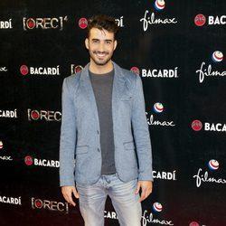 Israel Rodríguez en el estreno de 'REC 4' en Madrid
