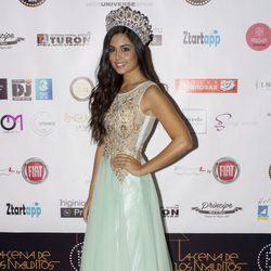 Patricia Yurena, Miss España 2013, en la gala para elegir a Miss España 2014
