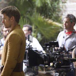 El actor de 'Juego de tronos' Nikolaj Coster Waldau en los Reales Alcázares de Sevilla