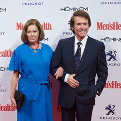 Raphael y Natalia Figueroa en la entrega de los Premios Men's Health 2014