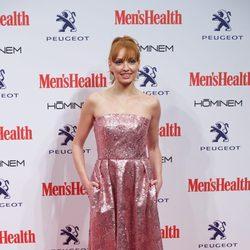 Cristina Castaño en la entrega de los Premios Men's Health 2014