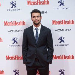 Jesús Castro en la entrega de los Premios Men's Health 2014