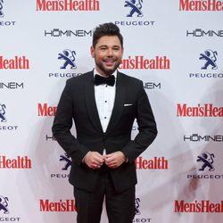 Miguel Poveda en la entrega de los Premios Men's Health 2014
