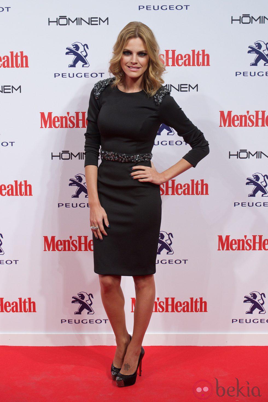 Amaia Salamanca en la entrega de los Premios Men's Health 2014