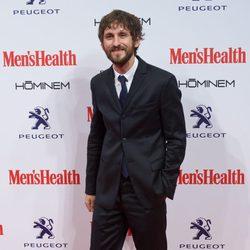 Raúl Arévalo en la entrega de los Premios Men's Health 2014