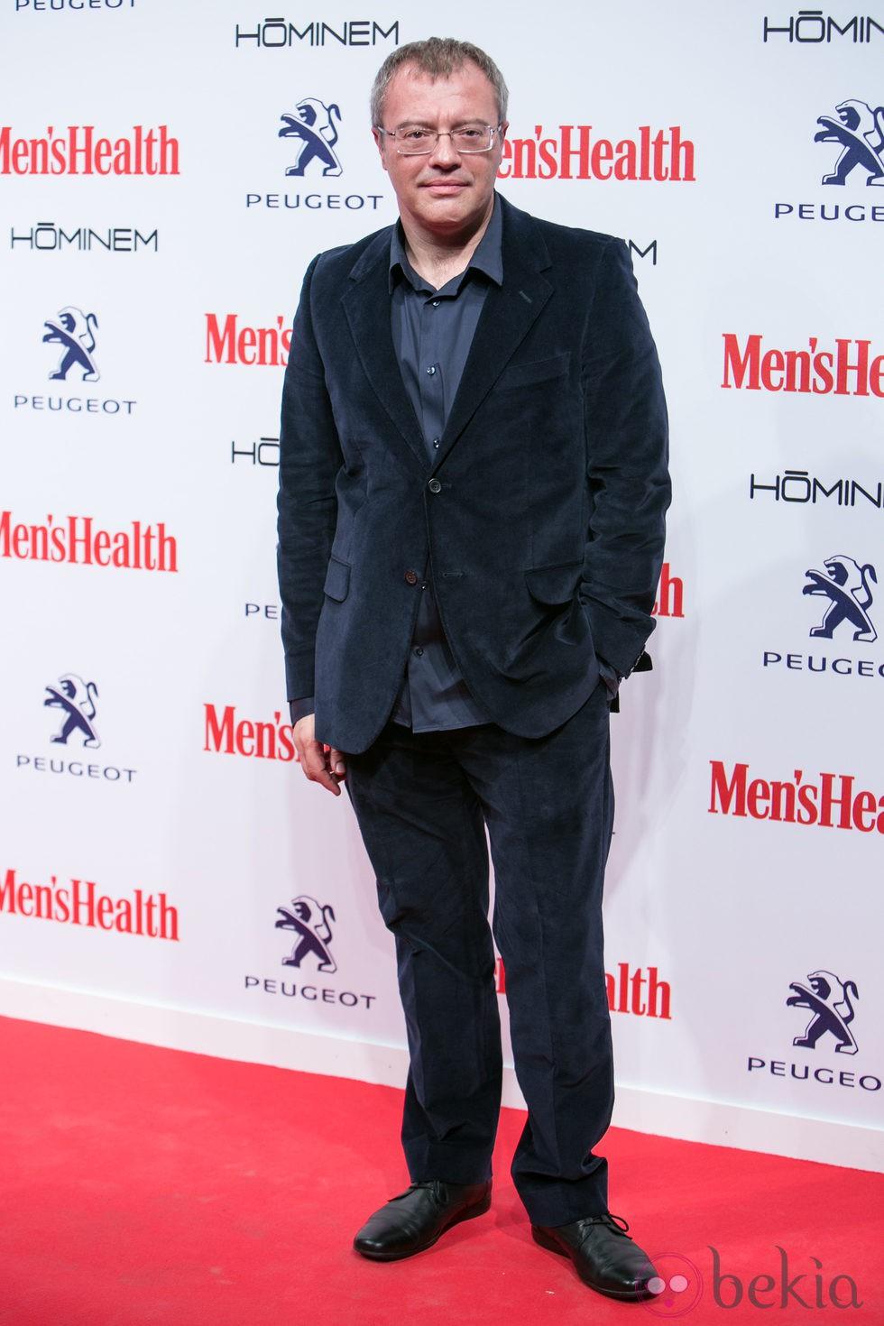 Daniel Monzón en la entrega de los Premios Men's Health 2014