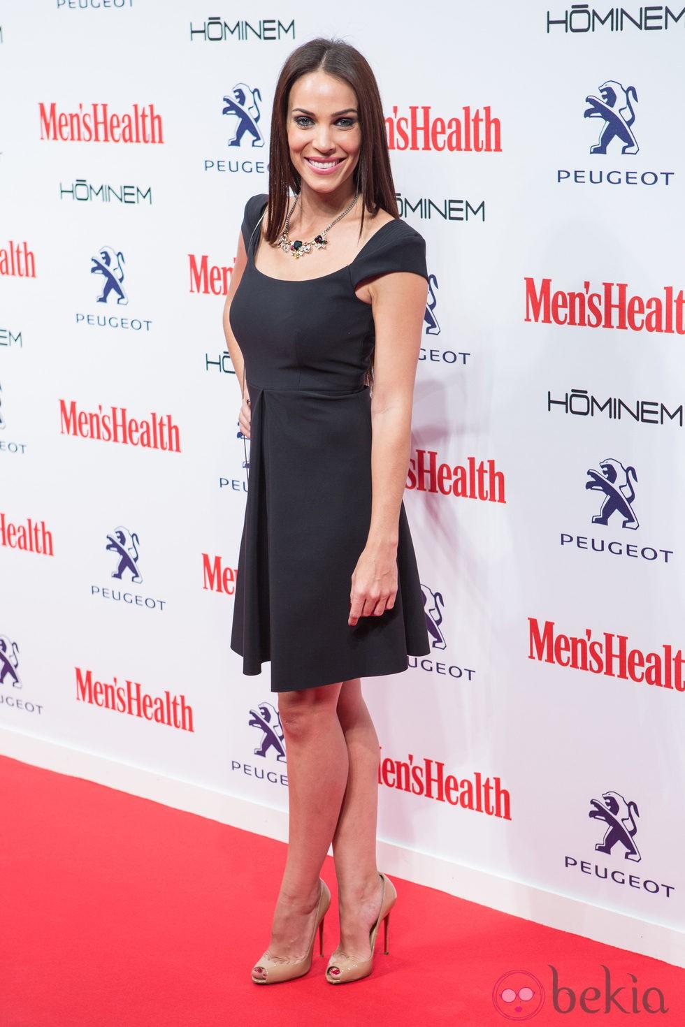 Nerea Garmendia en la entrega de los Premios Men's Health 2014