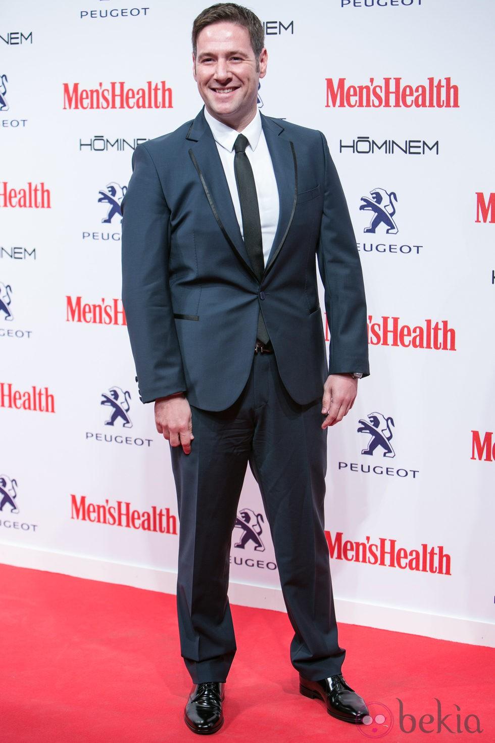 Carlos Latre en la entrega de los Premios Men's Health 2014