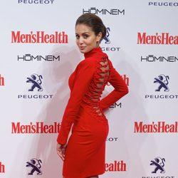 Hiba Abouk  en la entrega de los Premios Men's Health 2014