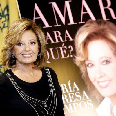 María Teresa Campos presenta su nuevo libro 'Amar ¿Para Qué?' en Madrid