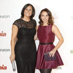 Rosa López y Chenoa en la entrega de los Premios Cuida de ti 2014