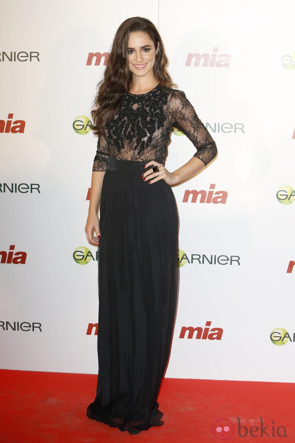 Alicia Sanz en la entrega de los Premios Cuida de ti 2014