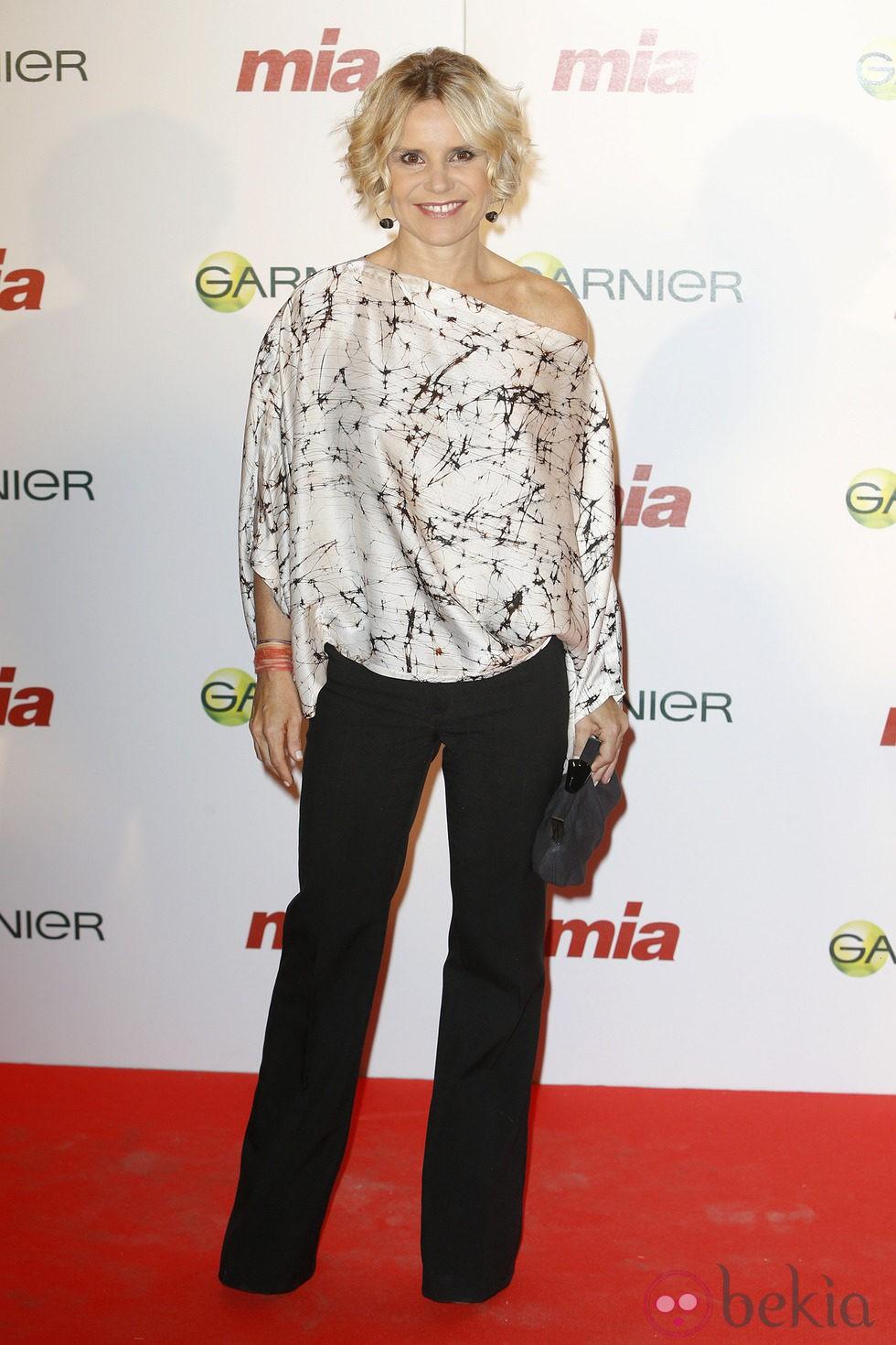 Eugenia Martínez de Irujo en la entrega de los Premios Cuida de ti 2014