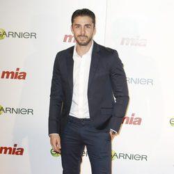Rubén Sanz en la entrega de los Premios Cuida de ti 2014