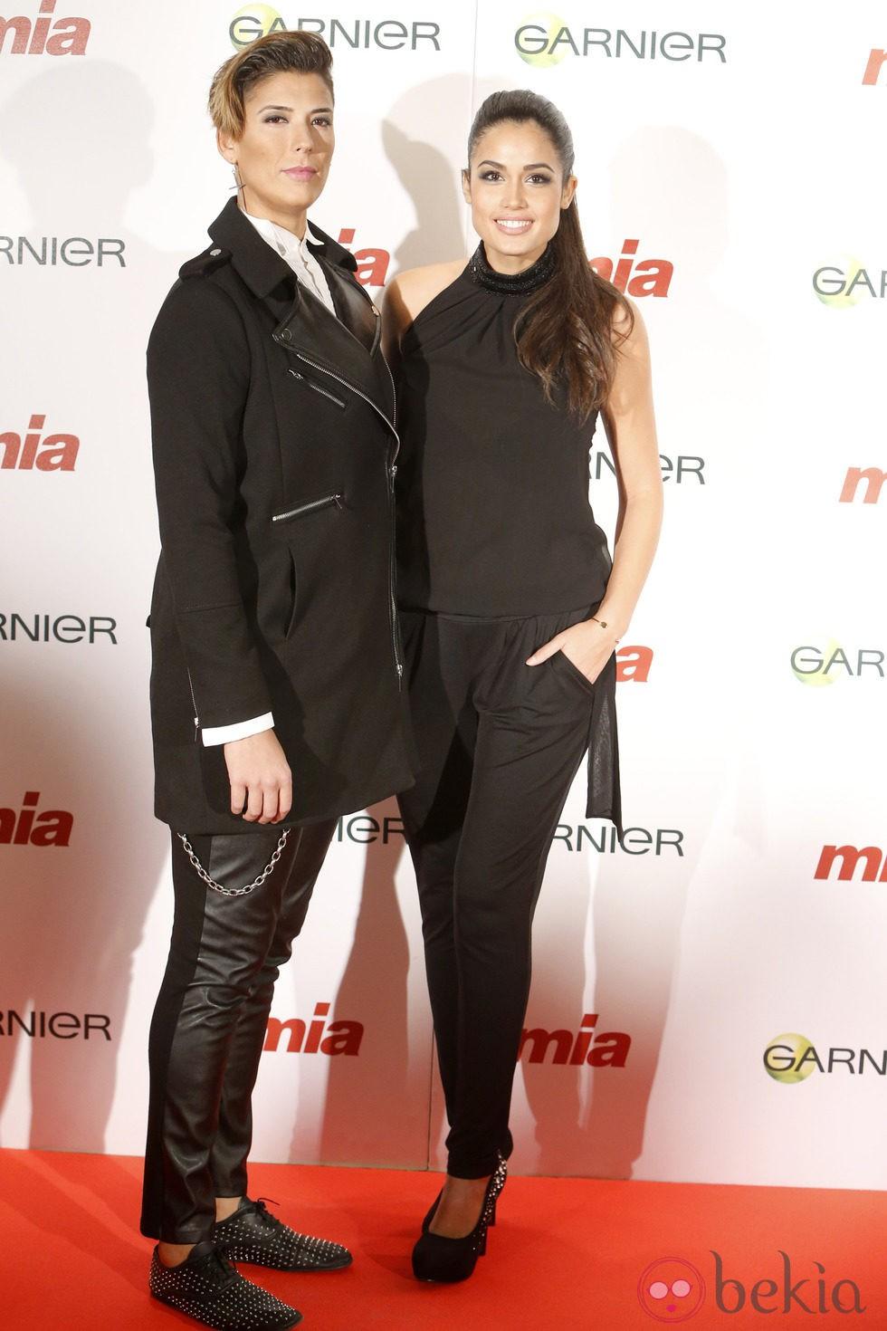 Patricia Yurena y Vanesa Klein en la entrega de los Premios Cuida de ti 2014