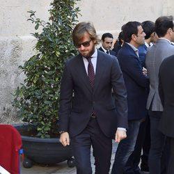 Rosauro Varo en el entierro de José María Manzanares padre