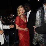 Kate Moss en la fiesta del 60 cumpleaños de Mario Testino