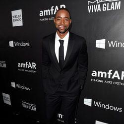 Jay Ellis en la 'AmfAR Inspiration Gala' 2014 en Hollywood