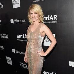 January Jones en la 'AmfAR Inspiration Gala' 2014 en Hollywood