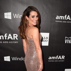 Lea Michele en la 'AmfAR Inspiration Gala' 2014 en Hollywood