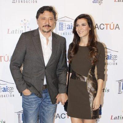 Carlos Bardem y Cecilia Gessa en los Premios Latin Artis 2014