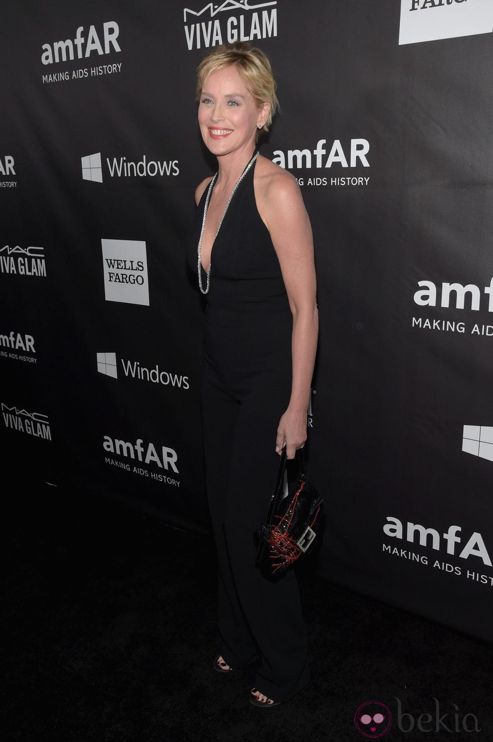 Sharon Stone en la 'AmfAR Inspiration Gala' 2014 en Hollywood