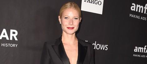 Gwyneth Paltrow en la 'AmfAR Inspiration Gala' 2014 en Hollywood