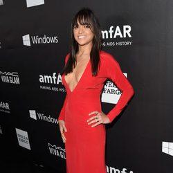 Michelle Rodriguez en la 'AmfAR Inspiration Gala' 2014 en Hollywood