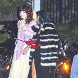Nicole Richie en una fiesta pre-Halloween en Los Ángeles