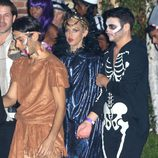 Rachel Zoe en una fiesta pre-Halloween en Los Ángeles