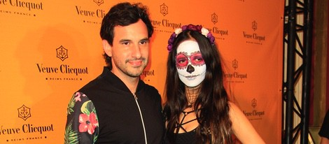 Antonio de la Rúa y Daniela Ramos en la Yelloween Party 2014