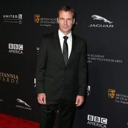 Chris Vance en la entrega de los Premios Bafta Britannia 2014