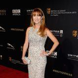 Jane Seymour en la entrega de los Premios Bafta Britannia 2014