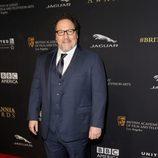 Jon Favreau en la entrega de los Premios Bafta Britannia 2014