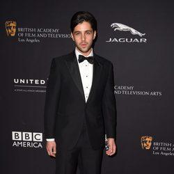 Josh Peck en la entrega de los Premios Bafta Britannia 2014