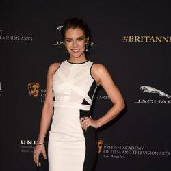 Lauren Cohan en la entrega de los Premios Bafta Britannia 2014
