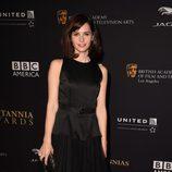 Felicity Jones en la entrega de los Premios Bafta Britannia 2014