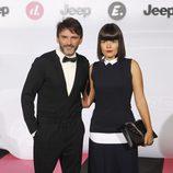 Laura Caballero y Fernando Tejero en una fiesta organizada por el canal de Mediaset Divinity