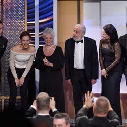 Los galardonados de los Premios BAFTA Britannia 2014