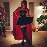 Lea Michele disfrazada de Caperucita Roja para Halloween 2014